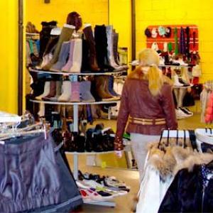 Магазины одежды и обуви Большой Мурты